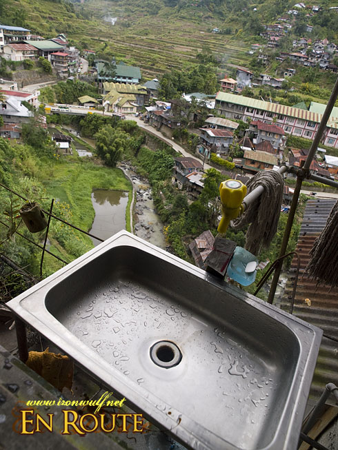 Banaue Sink with a View