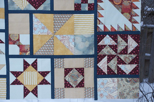 Sampler closeup