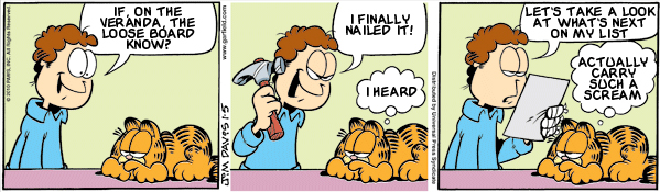 Garfield: Lost in Translation, January 5, 2010
