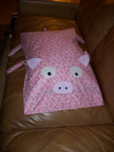 pig pillowcase