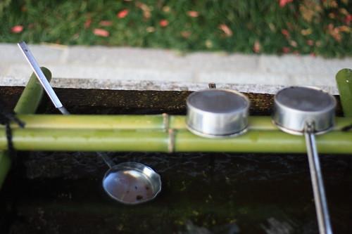 Water-point at Seimei Jinja Shrine