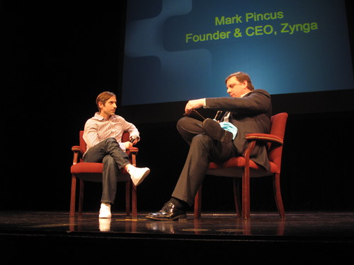 Mark Pincus + Mike Arrington