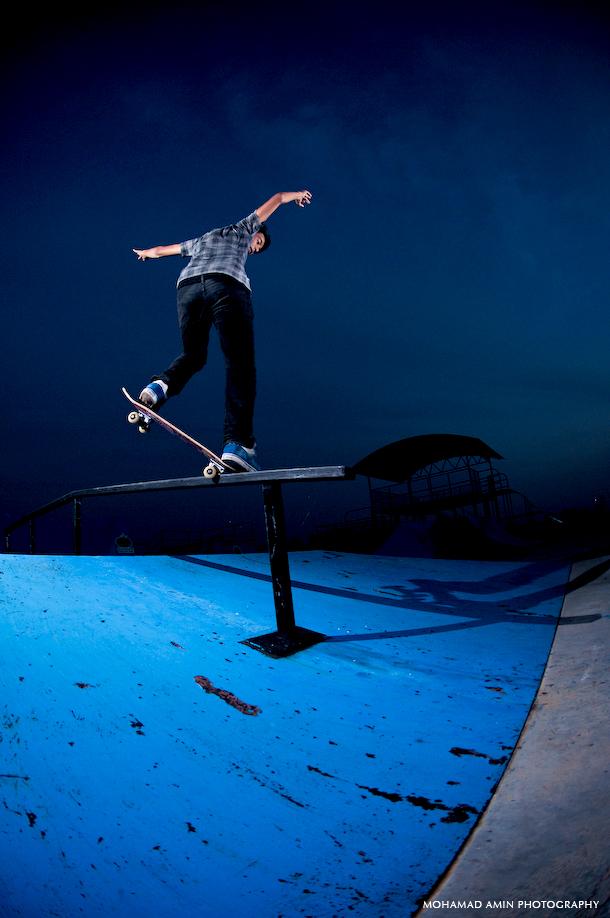 Pakun - Fronside Crooked @ YSB Skatepark