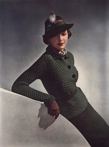vintage vogue knitting 5