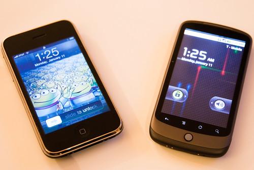iphone vs nexus one