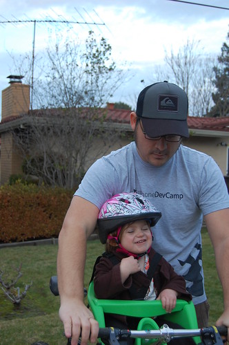 Vivian's First Bike Ride w/ Daddy