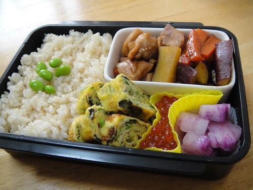 BBQ-Sauce-Chicken Bento