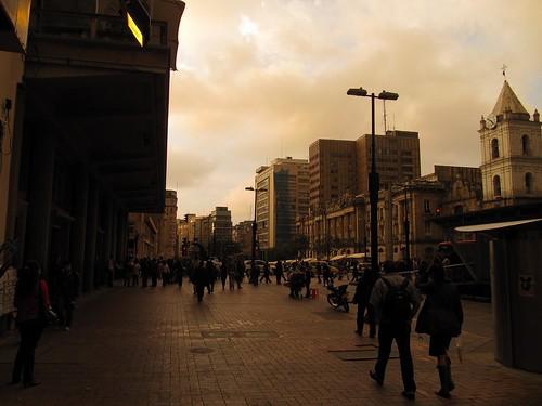 Columbia Bogota, 12 Jan 2009