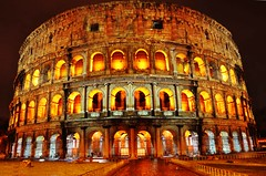 IL COLOSSEO (Elias Arcos Photo) Tags: rome roma night lights evening abend luces noche italia nacht colosseum luci notte sera colosseo italiy lichts