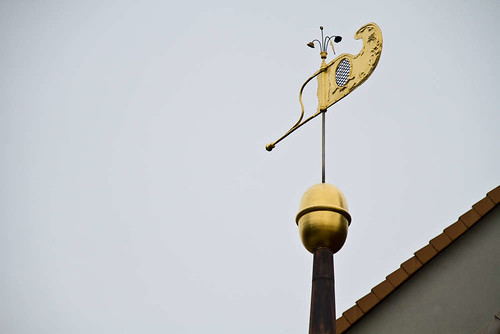 Windfahne in Bad Frankenhausen