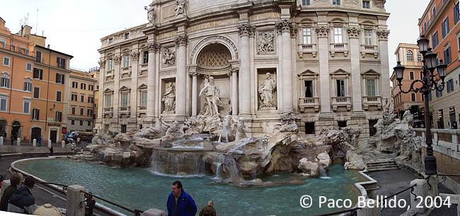 Fontana di Trevi. © Paco Bellido, 2004