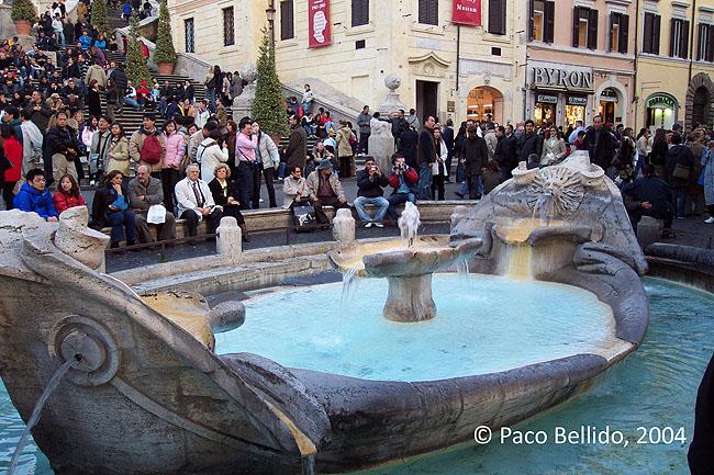 Piazza de Spagna. © Paco Bellido, 2004
