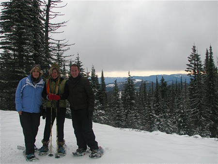 Snowshoeing at Mt. Spokane