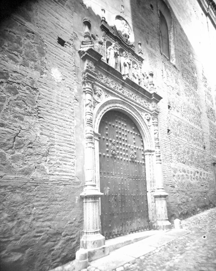 Convento de San Clemente de Toledo a finales del siglo XIX. Fotografía de Alexander Lamont Henderson