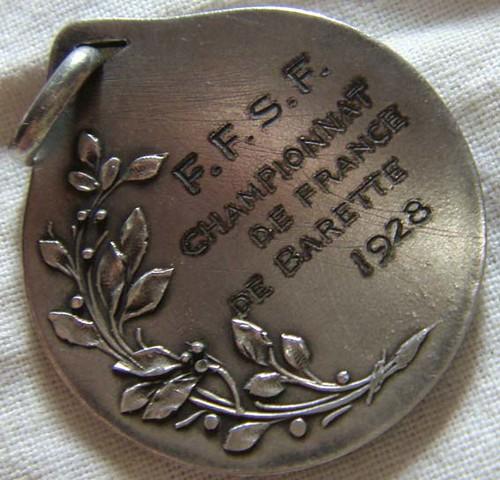 championnat barette 1928 back