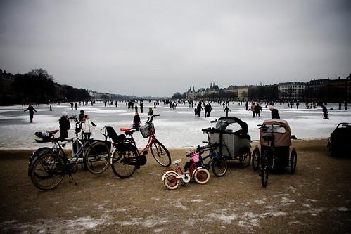 The Lakes en hiver