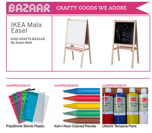 My favorite kids' craft supplies on CRAFT: today!