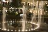 Downtown at the gardens (Luis Eduardo ®) Tags: water fountain night mall lights nocturnal miami luismosquera
