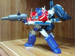 Jetpower Optimus Prime (N e w T y p e) Tags: prime transformers optimus jetfire kaiyodo jetpower revoltech