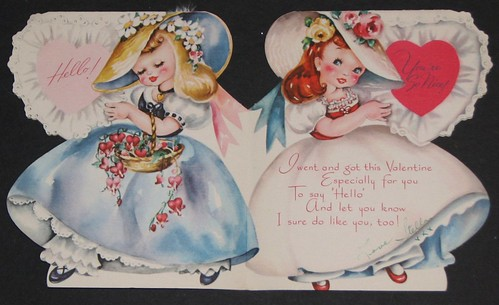 Vintage Valentine's Day Card 009