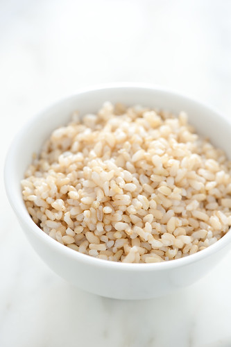 par cooked brown rice