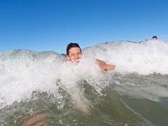 Nico dans la vague