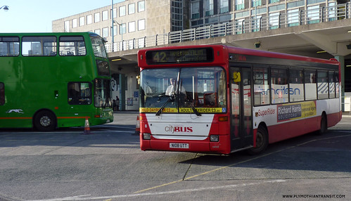 Plymouth Citybus 008 N108UTT