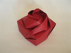 Shin Han Gyo's Rose Box (georigami) Tags: paper origami papel papiroflexia origamiforum stardream