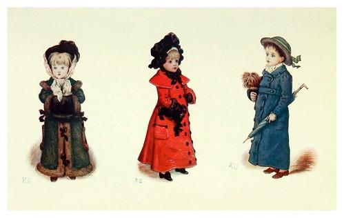 007- Tarjetas de navidad-Kate Greenaway 1905- Marion Spielmann y George Layard
