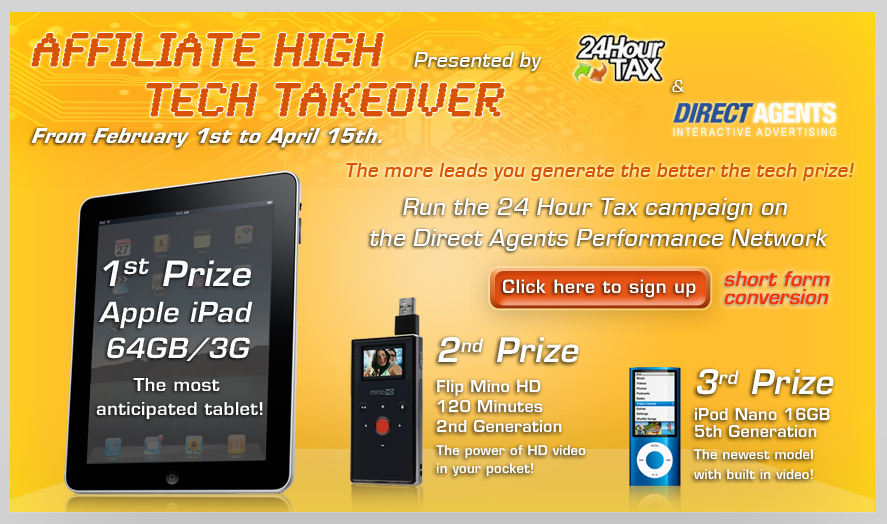 Direct Agents iPad Contest