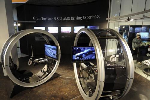 Gran Turismo 5 SLS AMG Driving Experience