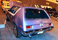Classic Gremlin? (wyojones) Tags: auto show classic cars ford car texas purple houston gremlin np 2010 houstonautoshow wyojones