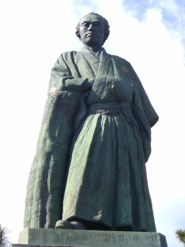 坂本龍馬像/Sakamoto Ryoma's Statue