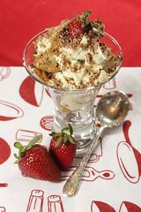 Tasty Tiramisu (Barbiejay56) Tags: food coffee cake dessert barbie strawberries tiramisu italianfood