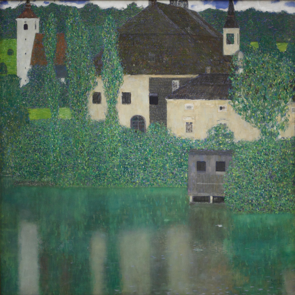 Gustav Klimt, Castle with a Moat, 1908-1909