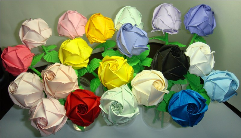 How To Make Origami Rose. How to make an origami rose.