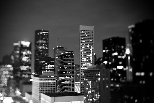 houston buildings 1 (tilt shift)