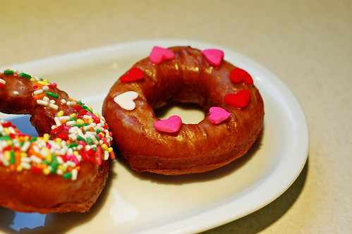 Valentine Doughnut