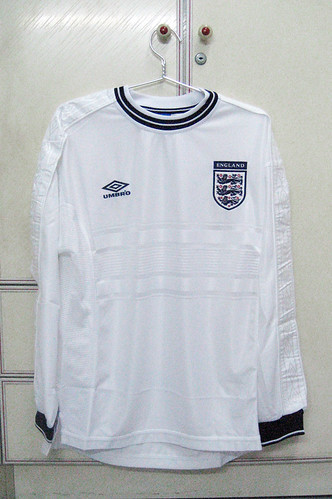 England 1999/2000 Home L/S (Player Issued)