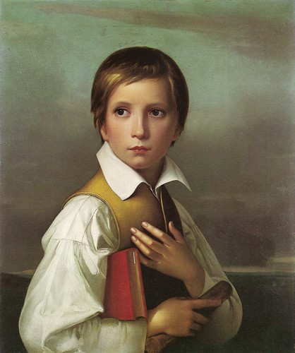 Schadow, Wilhelm von (1788-1862) - 1830 Portrait of the Artist's Stepbrother (Liechtenstein Museum)