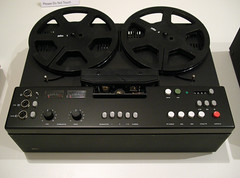 braun tg1000 tape recorder (smallritual) Tags: london exhibition braun dieterrams designmuseum