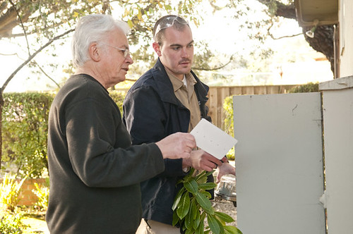 Reviewing SmartMeter™ with homeowner
