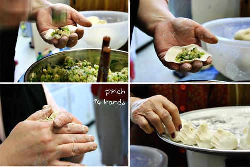 Image Gallery making dumplings