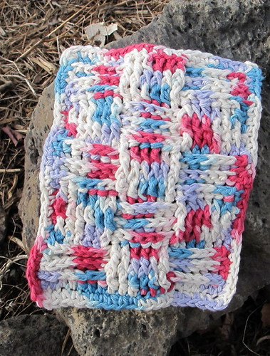 Another dishcloth for the create-along