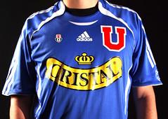 Universidad de Chile (Bastin Despreciable Cifuentes) Tags: chile ftbol universidaddechile elbulla chileazul ftbolchileno camisetaoficial vamoslau
