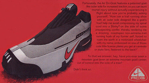 Air Dri Goat ad