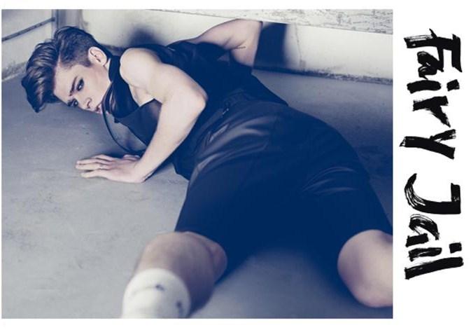 Cole Mohr shows his feminine side in Tush Magazine
