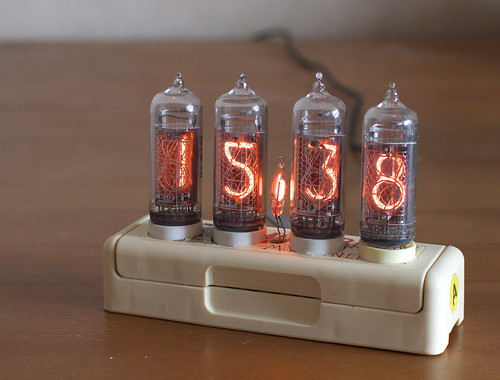 Harmoshnik, Nixie Clock in A