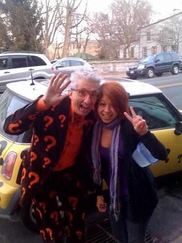 met Matthew Lesko on the streets of Shepherdstown randomly...neato!