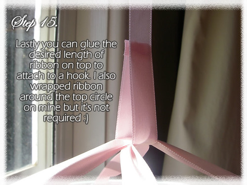 Step 15 (Tutorial- How to make a Chandelier Style Butterfly Mobile)